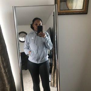 Nike grey zip hoodie. Size medium.